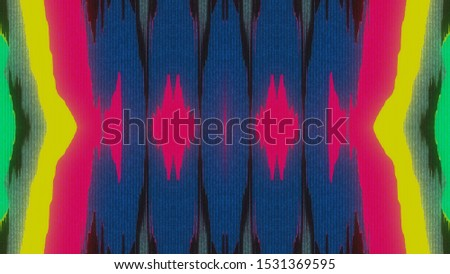 Abstract Symmetry and Reflection Digital Pixel Noise Glitch Background #1531369595