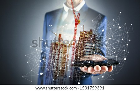 business concept plan new high-rise buildings #1531759391