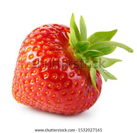 Strawberry isolated on white background #1532027165