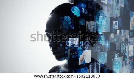 Medical technology concept. Remote medicine. Electronic medical record. #1532118050