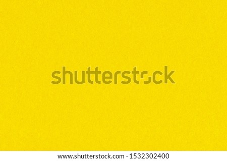 Yellow Paper Texture. Simple Background #1532302400