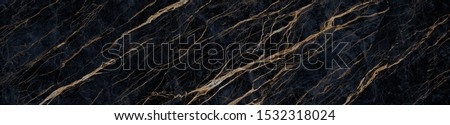 natural black marble texture background with high resolution, black marble with golden veins, Black marble natural pattern for background, granite slab stone ceramic tile, rustic matt marble texture. #1532318024
