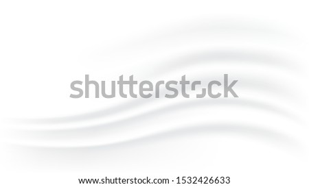 abstract white fabric silk texture soft, flowing milk waves for background, satin clothes white smooth elegant and twist wave texture, white cloth for wallpaper, white pearl color for cosmetics banner #1532426633