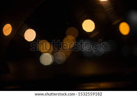 night black and color background bokeh christmas background