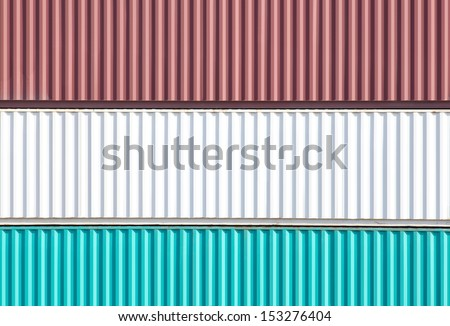 Containers shipping  #153276404