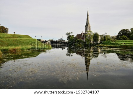 English Church in Copenhagen Denmark #1532784107