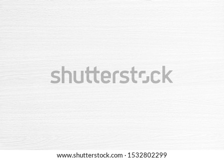 Table top view of wood texture in white light natural color background. Grey clean grain wooden floor birch panel backdrop with plain board pale detail streak finishing for chic space clear concept. #1532802299