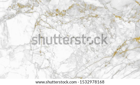 White gray and gold marble texture pattern background with high resolution design for cover book or brochure, poster, wallpaper background or realistic business #1532978168