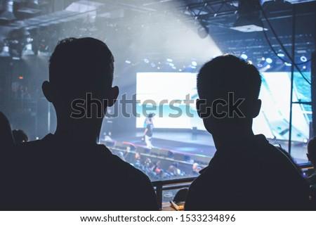 Saint Petersburg, Russia - October 13, 2019: Boulevard Depo concert, rap show in А2 Green Concert club, russian rapper #1533234896