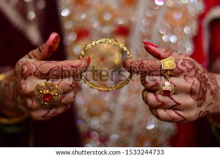 Pakistani Bridal Indian Bridal Gold  #1533244733