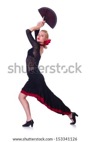 Female dancer dancing traditional dances #153341126