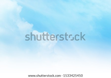 blue sky with white cloud #1533425450