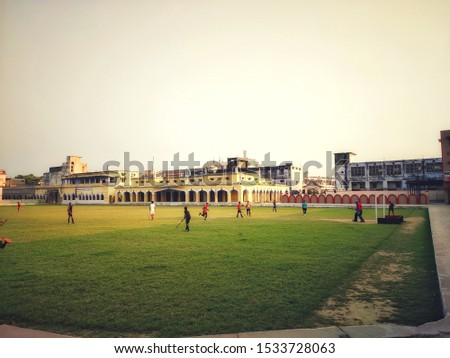 beautiful picture of hockey play ground
