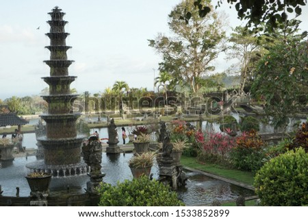 29 September 2019 Attractions Tirta Gangga, Karangasem in east Bali. #1533852899