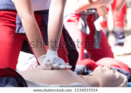 CPR - Cardiopulmonary resuscitation and first aid class  #1534019354