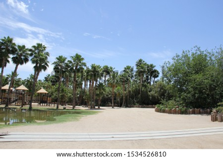 Interior view of Arizona Zoo #1534526810