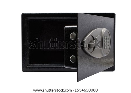 safe box on white background #1534650080