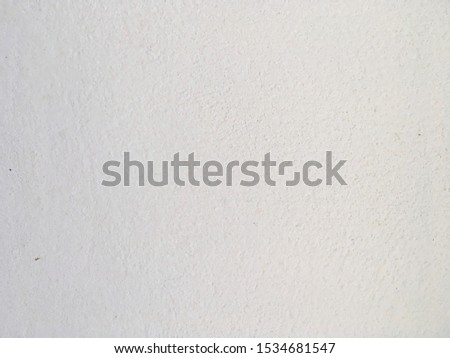 Abstract white paint concrete wall background texture #1534681547