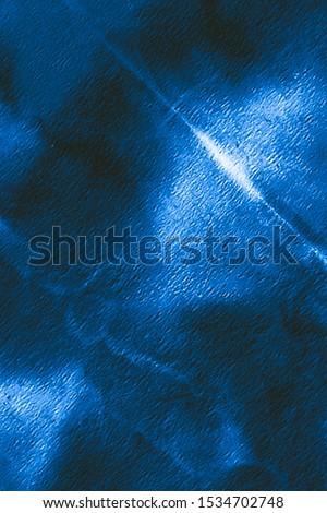 Dirty Art Pattern. Neon, Indigo Electric Night Sky. Beautiful Brushed Graffiti. Batik Modern Texture. Wrinkled Dyed Pattern. Vintage Drawn Texture. Tie Dye Design. #1534702748
