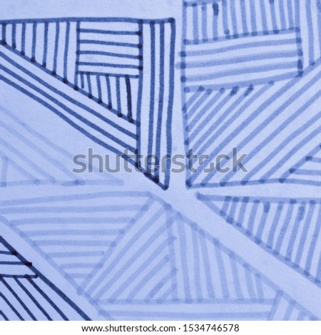 Nautical Contemporary Art. Abstract Grunge. Navy Bohemian Design. Ink Drawn Stripes. Artistic Geometric Shapes. Navy Vintage Pattern. Nautical Contemporary Art. #1534746578
