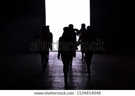 Fashion SHow themed photograph, Catwalk Event, Runway Show. #1534814048