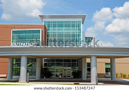 New Modern Hospital Outpatient Surgery Center