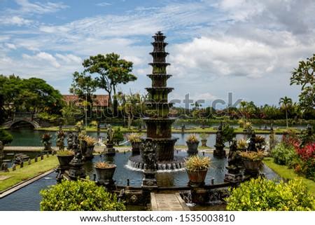 Travel destination. Water Palace of Tirta Gangga in East Bali, Indonesia #1535003810