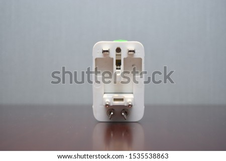 travel universal socket adaptor with surge protection #1535538863