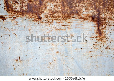 Rust metal background,Old metal iron and rusted metal texture,Surface rust. #1535681576