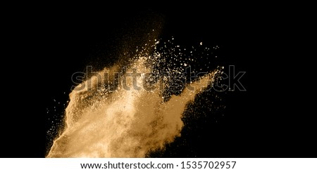 Realistic Dust With Explosion Effect