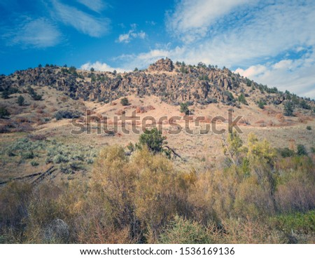 Fantastic pictures of the Gable Creek Formations of John Day Fossil Beds outside the rustic town of Mitchell, Oregon.