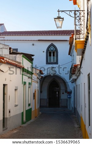 Beja,Portugal,9,2011; Pleasant city full of charm without tourist crowds, in the Baixo Alentejo #1536639065