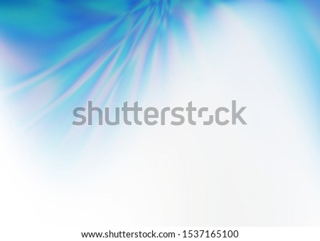 Light BLUE vector glossy bokeh pattern. A vague abstract illustration with gradient. The template for backgrounds of cell phones. #1537165100