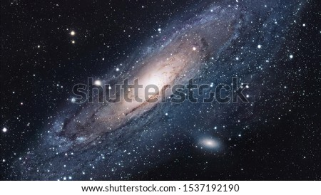The Space Photos Andromeda Galaxy