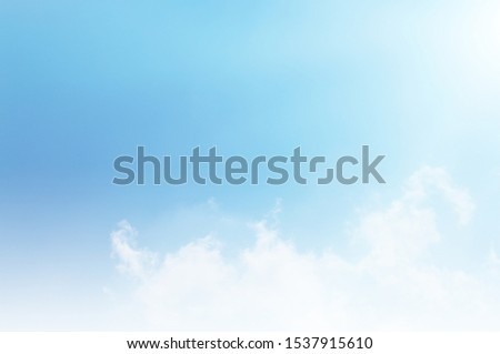 blue sky and white cloud beautiful background #1537915610