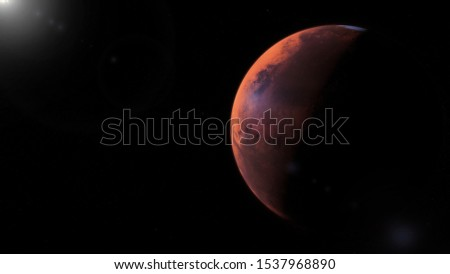 Picture of Mars the Red Planet