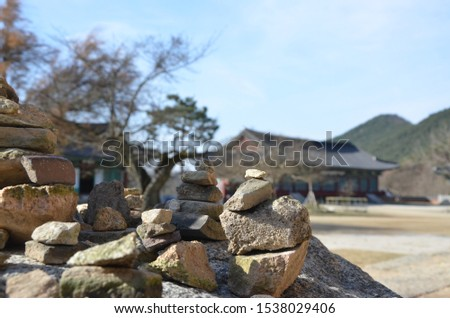 Rock stacking/Stone Stacking, some people believe it is a symbol/a way to make a wish for their dream #1538029406