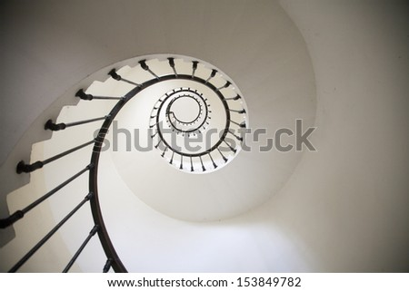 Spiral stairs #153849782