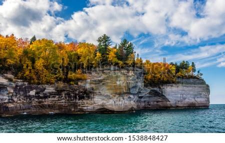 Picture Rock Boat Cruise; Munising, Michigan
