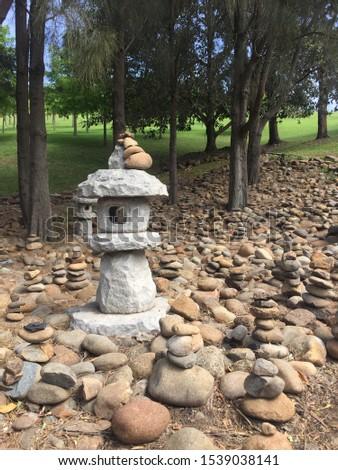 Stone art at Nan Tien Temple of Australia #1539038141