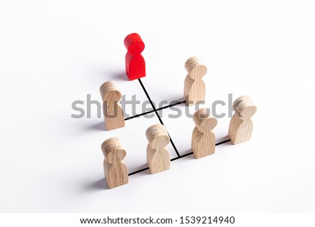Hierarchical system of business and organization management. Improving work efficiency and even distribution of workload among managers and superiors. Leadership, teamwork. Cooperation, collaboration. #1539214940