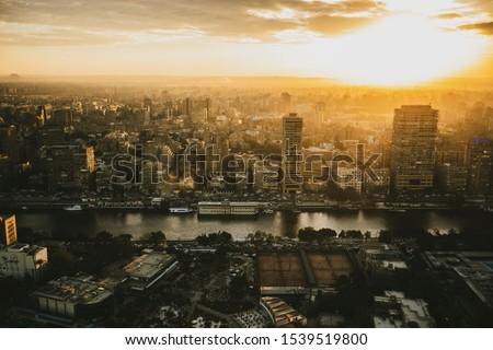 Cairo at Cairo tower High shoot.  Egypt #1539519800