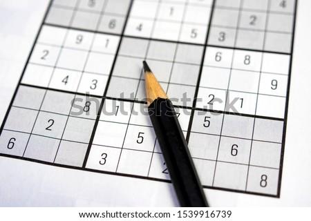 close up brain game sudoku