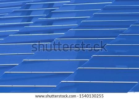 Solar panels, roof panel installation. #1540130255