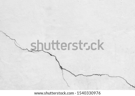 Crack concrete wall texture background. Royalty-Free Stock Photo #1540330976