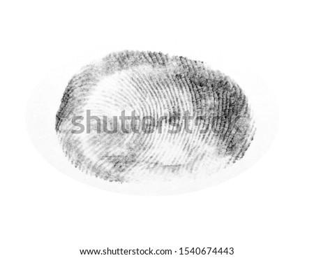 Fingerprints.Background with fingerprints.Black fingerprint on white background. #1540674443