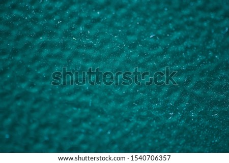 Powder coatings samples on metal plate #1540706357