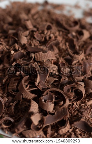 chocolate shavings in the kitchen cocoa cake #1540809293