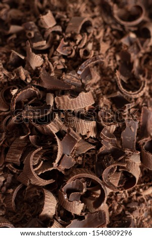 chocolate shavings in the kitchen cocoa cake #1540809296