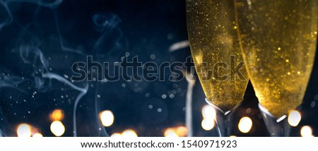Happy New Year 2020. Christmas and New Year holidays background, winter season. #1540971923